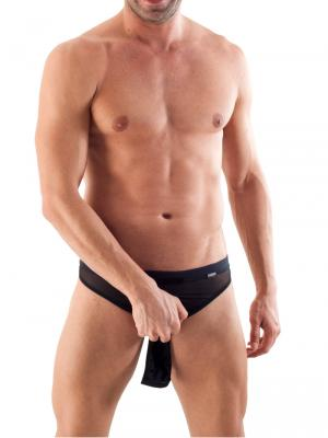 Geronimo Thongs, Item number: 1361s9 Black Reveal Thong, Color: Black, photo 3