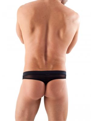 Geronimo Thongs, Item number: 1361s9 Black Reveal Thong, Color: Black, photo 7