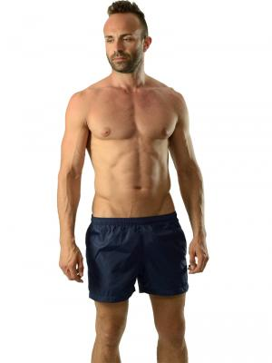 Geronimo Swim Shorts, Item number: 1605p1 Black Swim Shorts, Color: Black, photo 2