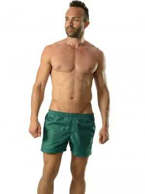 Geronimo Swim Shorts, Item number: 1605p1 Green Swim Shorts, Color: Green, photo 2