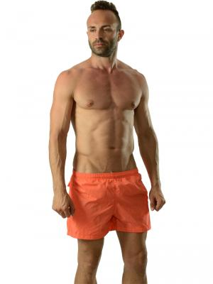 Geronimo Swim Shorts, Item number: 1605p1 Orange Swim Shorts, Color: Orange, photo 2