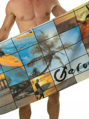 Geronimo Beach Towels, Item number: 1604x1 Tropical Beach Towel, Color: Multi, photo 1