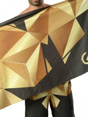 Geronimo Beach Towels, Item number: 1610x1 Black Beach Towel, Color: Black, photo 1