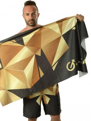 Geronimo Beach Towels, Item number: 1610x1 Black Beach Towel, Color: Black, photo 3