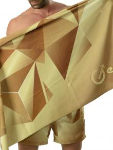 Beach Towels, Geronimo, Item number: 1610x1 Brown Beach Towel