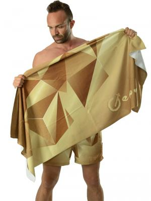 Geronimo Beach Towels, Item number: 1610x1 Brown Beach Towel, Color: Brown, photo 3