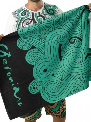 Geronimo Beach Towels, Item number: 1612x1 Green Beach Towel, Color: Green, photo 1
