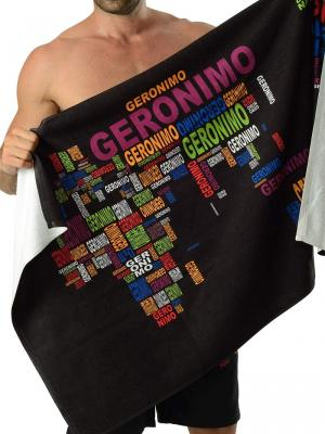 Geronimo Beach Towels, Item number: 1623x1 Beach Towel, Color: Black, photo 1