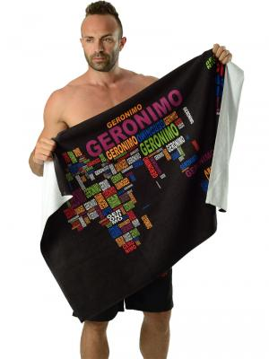 Geronimo Beach Towels, Item number: 1623x1 Beach Towel, Color: Black, photo 3