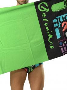 Beach Towels, Geronimo, Item number: 1616x1 Green Beach Towel