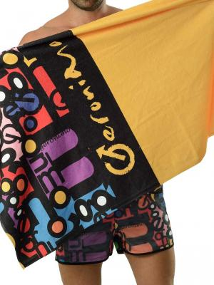 Geronimo Beach Towels, Item number: 1616x1 Yellow Beach Towel, Color: Yellow, photo 1