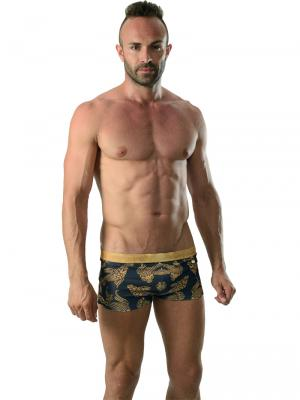 Geronimo Boxers, Item number: 1609b1 Black Koi Fish Trunk, Color: Black, photo 2