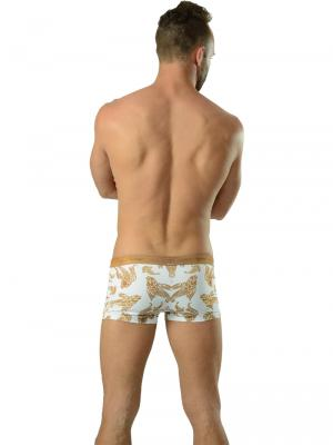 Geronimo Boxers, Item number: 1609b1 White Koi Fish Trunk, Color: White, photo 5