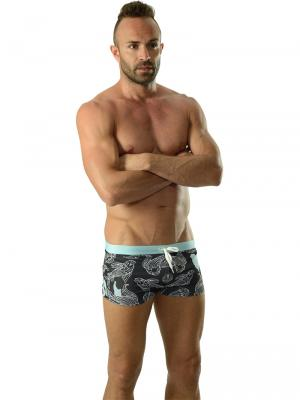 Geronimo Boxers, Item number: 1609b1 Light Koi Fish Trunk, Color: Multi, photo 2
