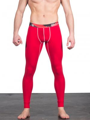 Geronimo Leggings, Item number: 1664j6 Red Leggings, Color: Red, photo 1