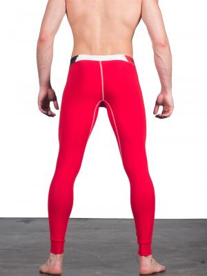 Geronimo Leggings, Item number: 1664j6 Red Leggings, Color: Red, photo 3