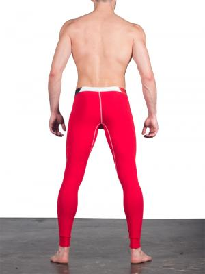 Geronimo Leggings, Item number: 1664j6 Red Leggings, Color: Red, photo 4