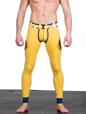 Geronimo Leggings, Item number: 1665j6 Yellow Leggings, Color: Yellow, photo 1