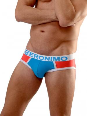 Geronimo Briefs, Item number: 1662s2 White Men's Brief, Color: White, photo 3