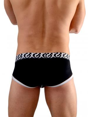 Geronimo Briefs, Item number: 1661s2 Black Briefs, Color: Black, photo 6