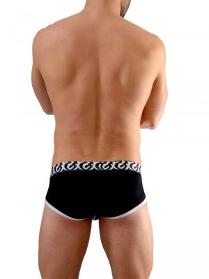 Geronimo Briefs, Item number: 1661s2 Black Briefs, Color: Black, photo 7
