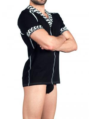 Geronimo T shirt, Item number: 1661t5 Black Tshirt, Color: Black, photo 3