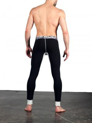 Geronimo Leggings, Item number: 1668j6 Black Leggings, Color: Black, photo 6