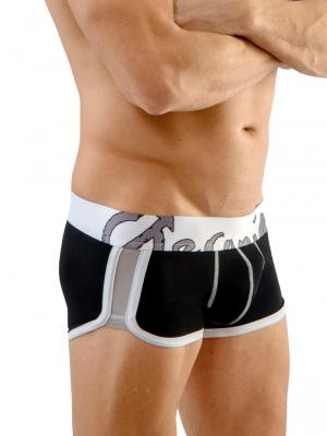 Geronimo Boxers, Item number: 1666b1 Black Boxer Brief, Color: Black, photo 1