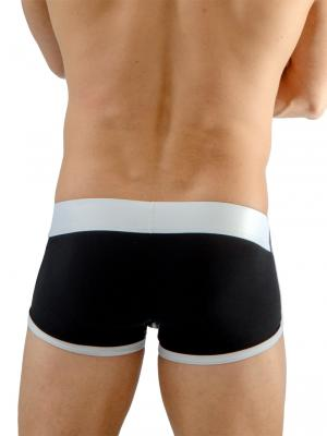 Geronimo Boxers, Item number: 1666b1 Black Boxer Brief, Color: Black, photo 6