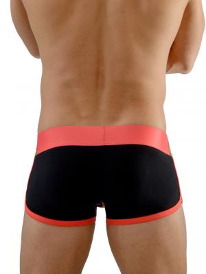 Geronimo Boxers, Item number: 1666b1 Black Orange Boxers, Color: Multi, photo 6