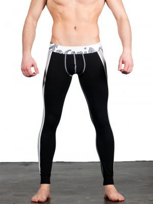 Geronimo Leggings, Item number: 1666j6 Black Leggings, Color: Black, photo 3