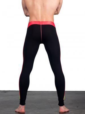 Geronimo Leggings, Item number: 1666j6 Black Red Leggings, Color: Multi, photo 5