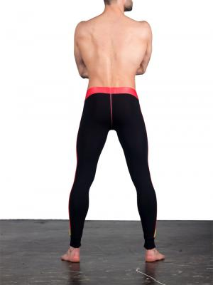 Geronimo Leggings, Item number: 1666j6 Black Red Leggings, Color: Multi, photo 6