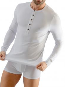Long sleeve , Geronimo, Item number: 1667t6 White Longsleeve t-shirt