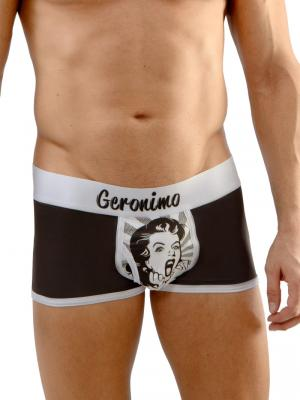 Geronimo Boxers, Item number: 1669b1 Audrey Boxer Briefs, Color: Black, photo 1