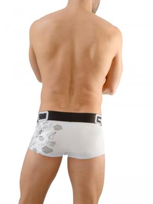 Geronimo Boxers, Item number: 1670b1 Drawings Boxer Briefs, Color: White, photo 5