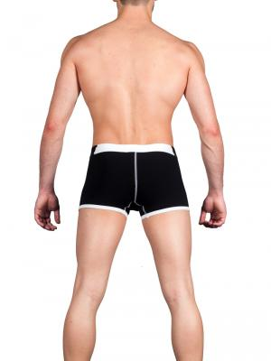 Geronimo Boxers, Item number: 1664b1 Black Boxer Trunks, Color: Black, photo 5