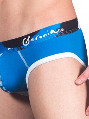 Geronimo Briefs, Item number: 1664s2 Blue Brief for Men, Color: Blue, photo 5