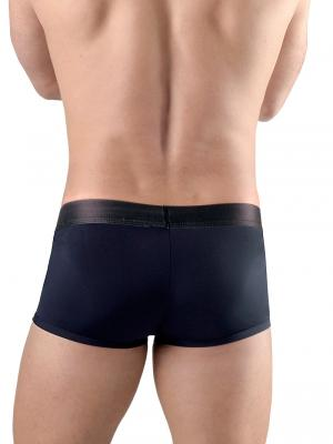 Geronimo Fetish, Item number: 1766b1 Black Zip Front Boxer, Color: Black, photo 3
