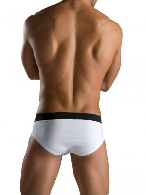 Geronimo Briefs, Item number: 1766s2 White Zip Front Brief, Color: White, photo 5