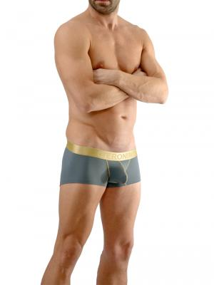 Geronimo Boxers, Item number: 1663b2 Grey Boxer Briefs, Color: Grey, photo 2