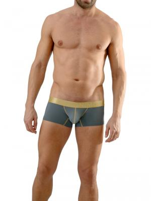 Geronimo Boxers, Item number: 1663b2 Grey Boxer Briefs, Color: Grey, photo 4