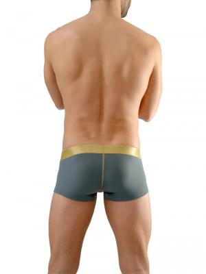 Geronimo Boxers, Item number: 1663b2 Grey Boxer Briefs, Color: Grey, photo 7