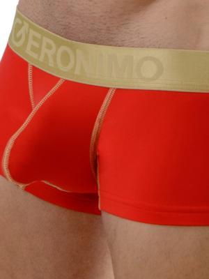 Geronimo Boxers, Item number: 1663b2 Red Boxer Briefs, Color: Red, photo 5