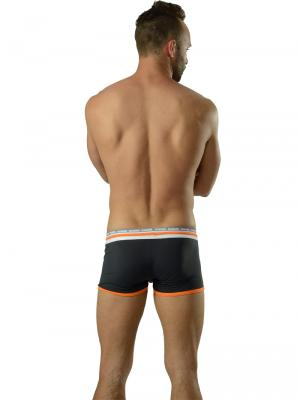 Geronimo Boxers, Item number: 1626b1 Black Orange Trunks, Color: Black, photo 5