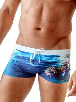 Geronimo Boxers, Item number: 1702b1 Ocean Space Trunks, Color: Multi, photo 1