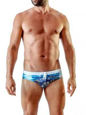 Geronimo Briefs, Item number: 1702s2 Ocean Space Brief, Color: Multi, photo 2