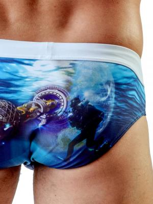 Geronimo Briefs, Item number: 1702s2 Ocean Space Brief, Color: Multi, photo 3