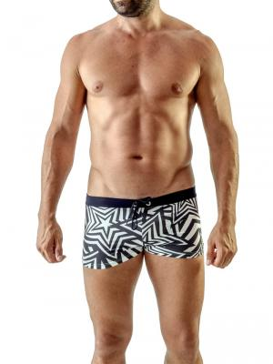 Geronimo Boxers, Item number: 1705b1 Black Swim Trunks, Color: Black, photo 2