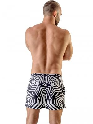 Geronimo Swim Shorts, Item number: 1705p1 Star Swim Short, Color: Black, photo 4